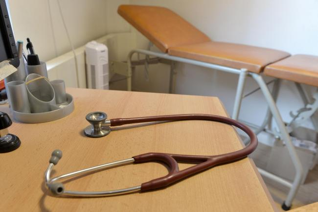 File photo dated 10/09/14 of a stethoscope in a GP's practice room, as more than half of family doctors say they are set to leave the profession early, according to a new survey. PRESS ASSOCIATION Photo. Issue date: Monday March 2, 2015. The survey of
