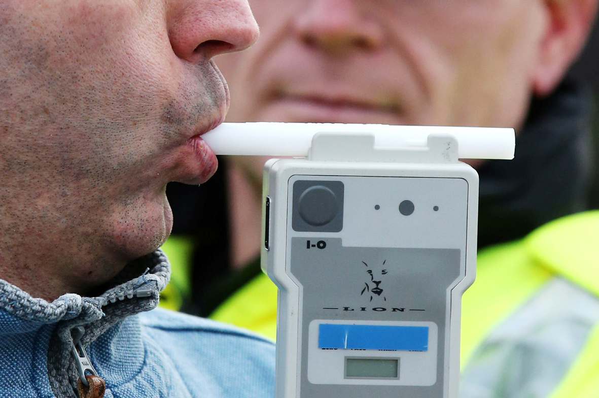 Driver stopped on suspicion of drink driving in Royal Wootton Bassett last night