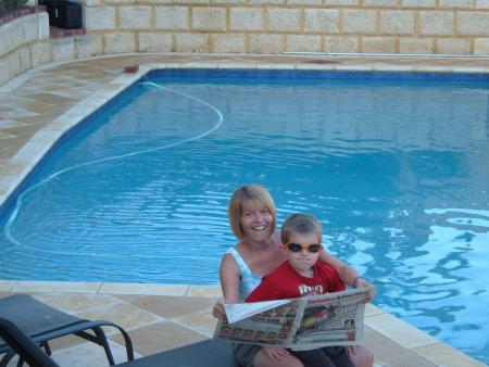 HERE'S five-year-old Jack Norris with mum Rachael on holiday in Australia.