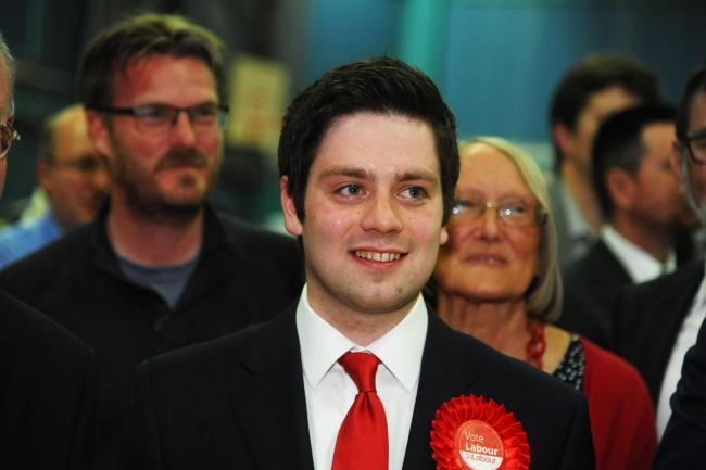 Coun Matthew Courtliff has left the Labour Party for a second time