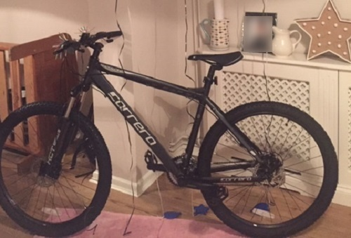 This bike was stolen from a 14-year-old boy.