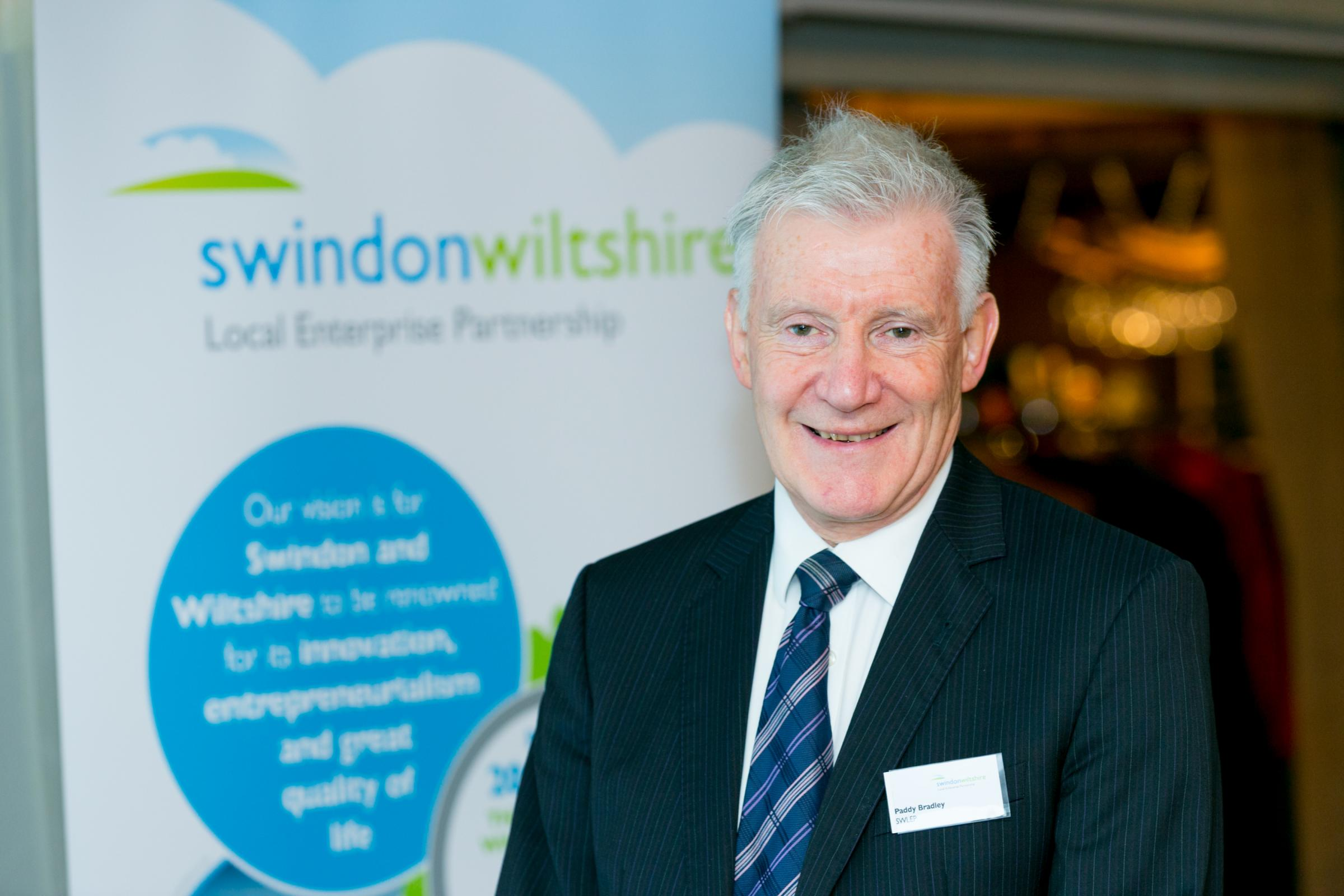 Paddy Bradley of SWLEP