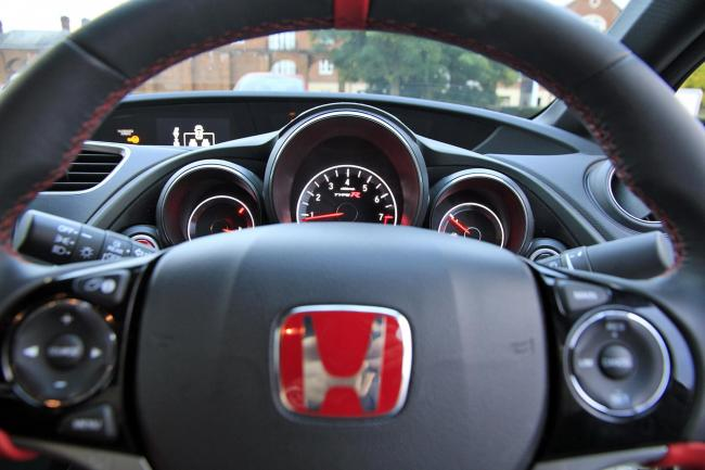 Undated Handout Photo of the interior of the 2015 Honda Civic Type-R. See PA Feature MOTORING Road Test. Picture credit should read: PA Photo/Handout. WARNING: This picture must only be used to accompany PA Feature MOTORING Road Test..