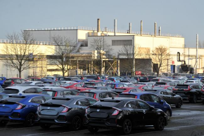 The Honda plant could be critical to the economic success of Swindon says expert James Lockhart    		 Picture: Dave Cox