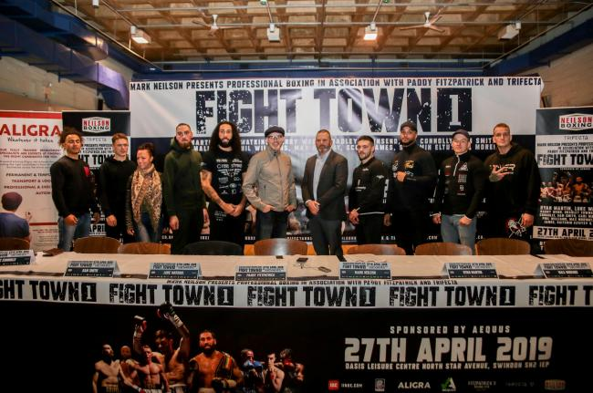 Launch of Neilson Boxing Fight Town 1 show. PICTURE: Naomi Youd