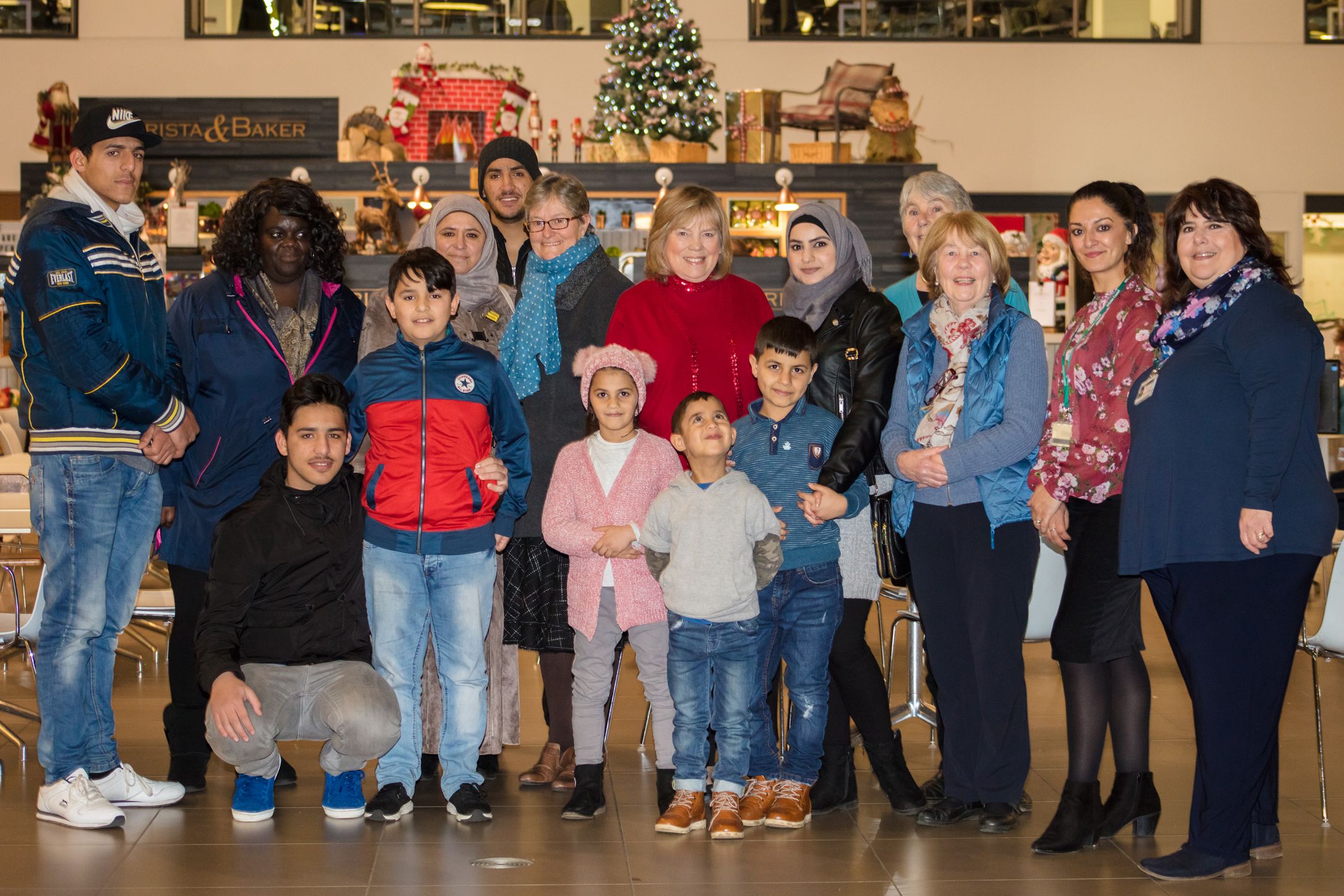 Syrian families celebrate three years of Vulnerable Person's Resettlement Scheme