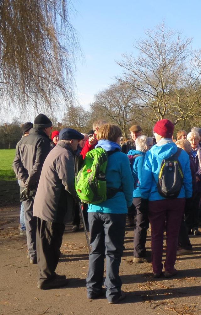 Step Out Swindon aim to improve health through walks