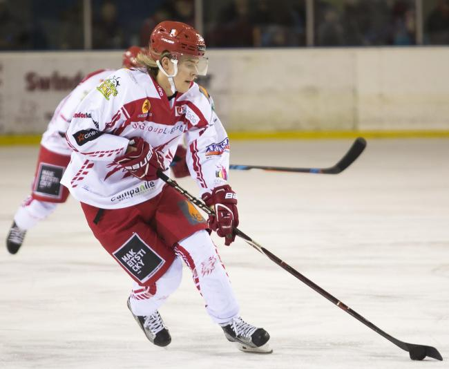 Toms Rutkis has been in fine form for Swindon Wildcats this season. 