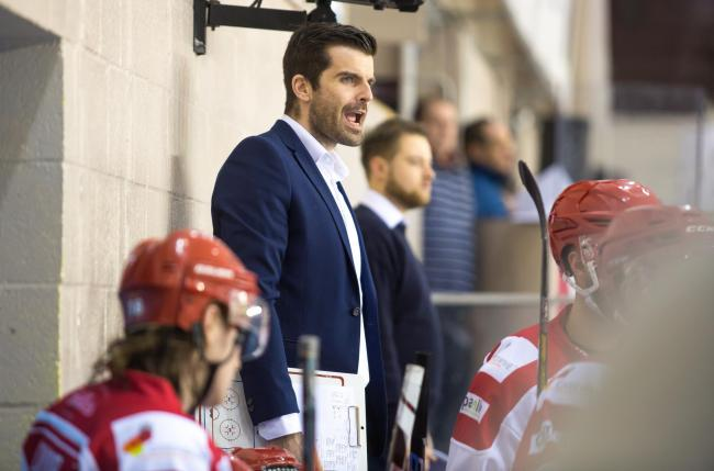 Aaron Nell was left heartbroken on Sunday as Swindon Wildcats crashed out of the NIHL play-offs against Bracknell Bees 