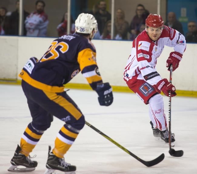 Swindon Wildcats Vs London Raiders, Sam Bullas in action, Picture Ryan Ainscow, 23.02.19,.