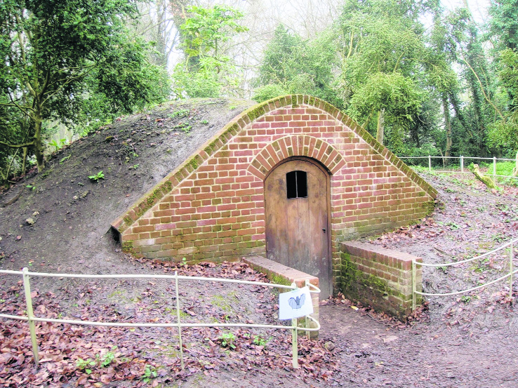 The ice house at Lydiard Park