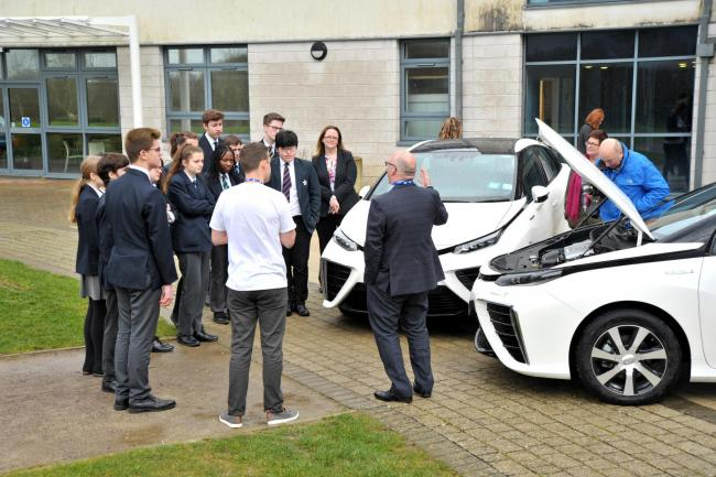 The launch of the hydrogen pack last week