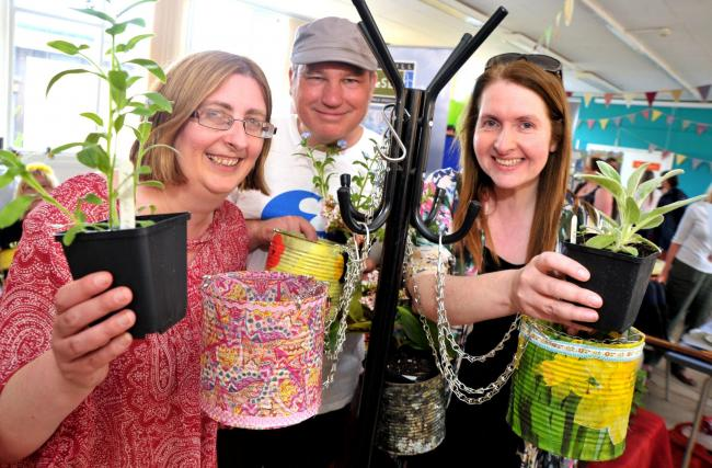 Last year's Eco-Fest at Savernake Street Hall   Picture: DAVE COX