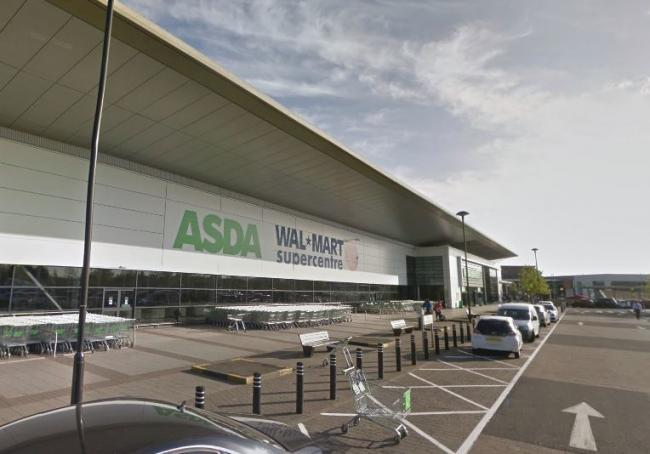 ASDA Walmart at the Orbital Shopping Park Picture: GOOGLE