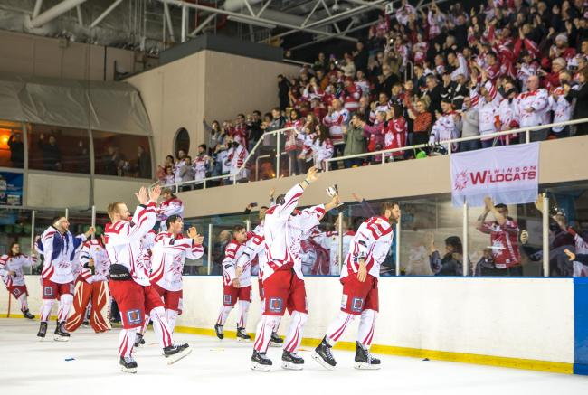 Swindon Wildcats Vs Bracknell Bees, Wildcats Win the league, Picture Ryan Ainscow 16.03.19.