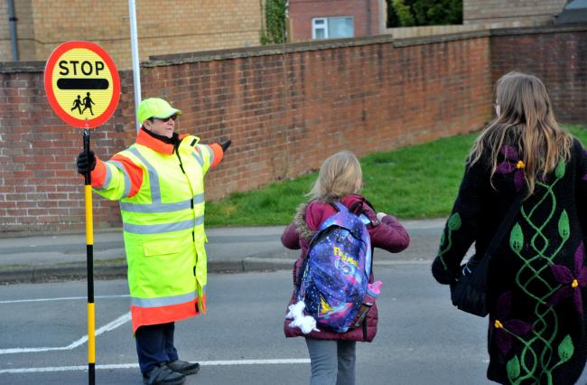 The loss of a lollipop lady in Westlea following her retirement raised concerns for children's safety  			               Picture: DAVE COX