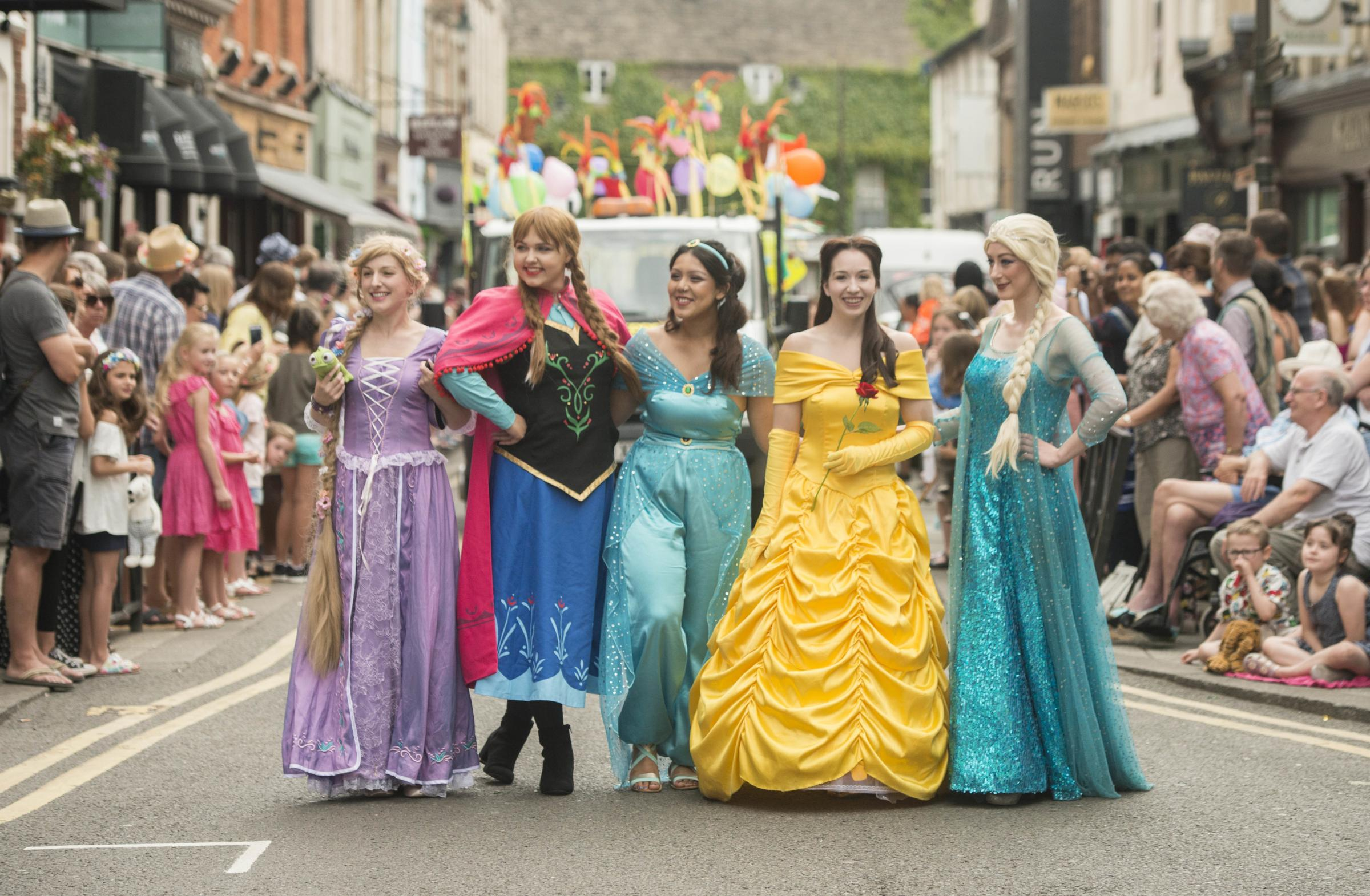 Old Town Festival .Pictured Parade.09/07/17.Pictures Clare Green/ www.claregreenphotography.com.