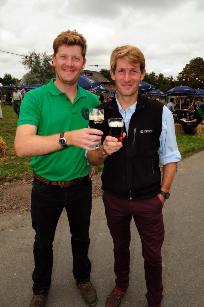 Be part of the team Akell's team - Alex and George Arkell at the company's festival in the summer