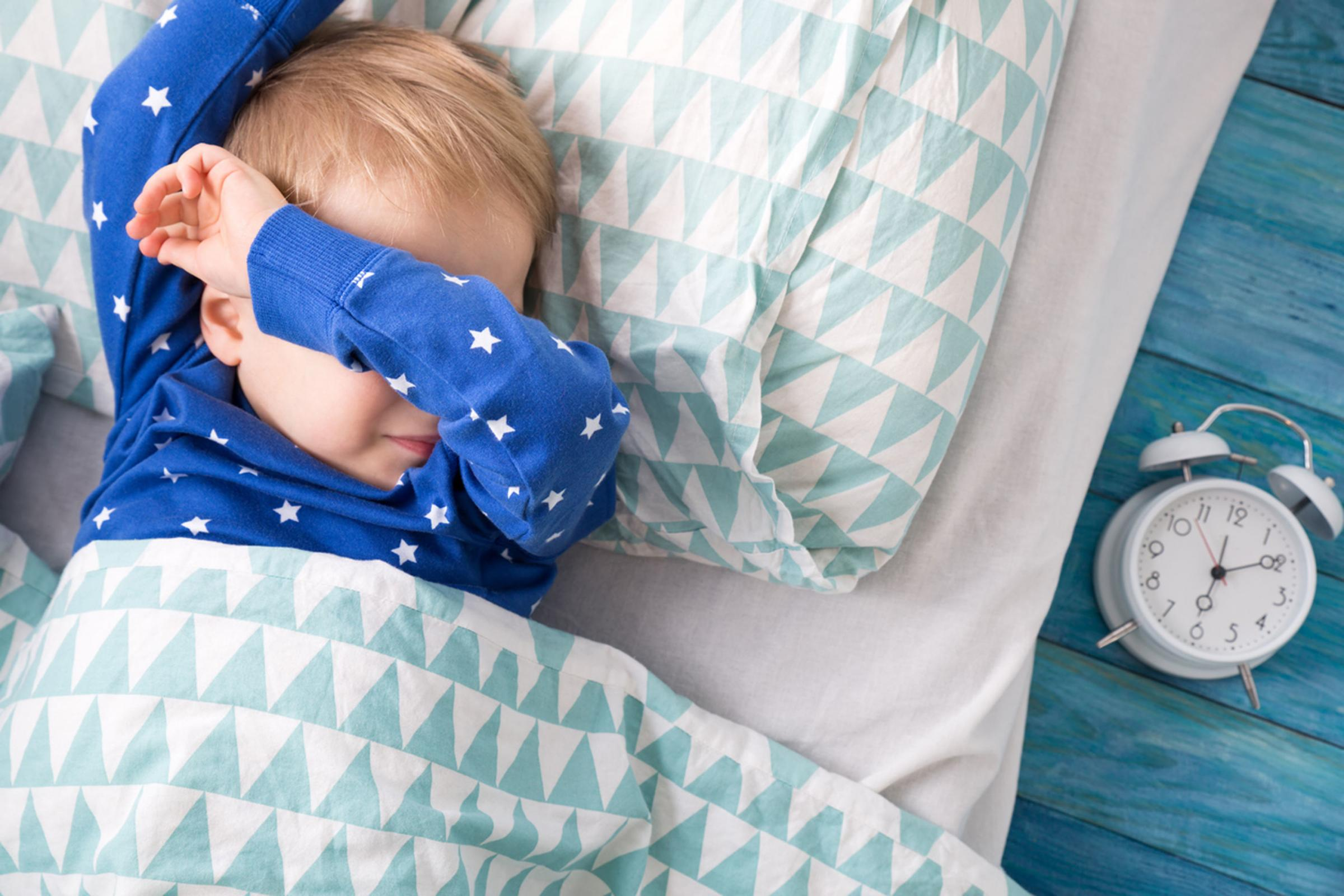 A Generic Photo of a young child in bed struggling to sleep. See PA Feature FAMILY Sleep. Picture credit should read: iStock/PA. WARNING: This picture must only be used to accompany PA Feature FAMILY Sleep.