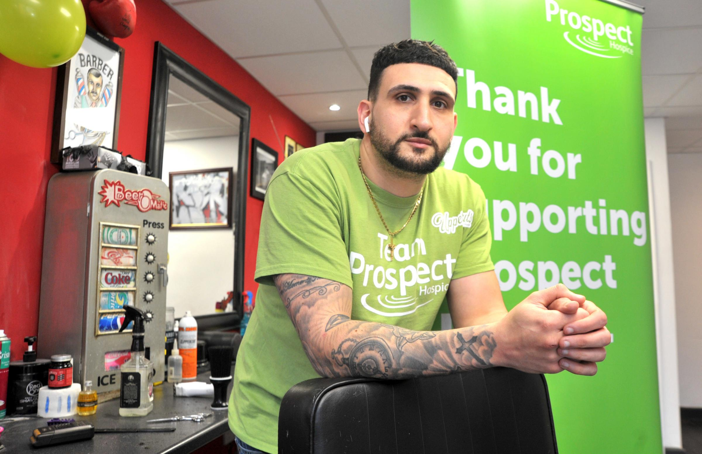 Uppercuts Barbershop and Imagine Cruising team up to raise money for Prospect Hospice