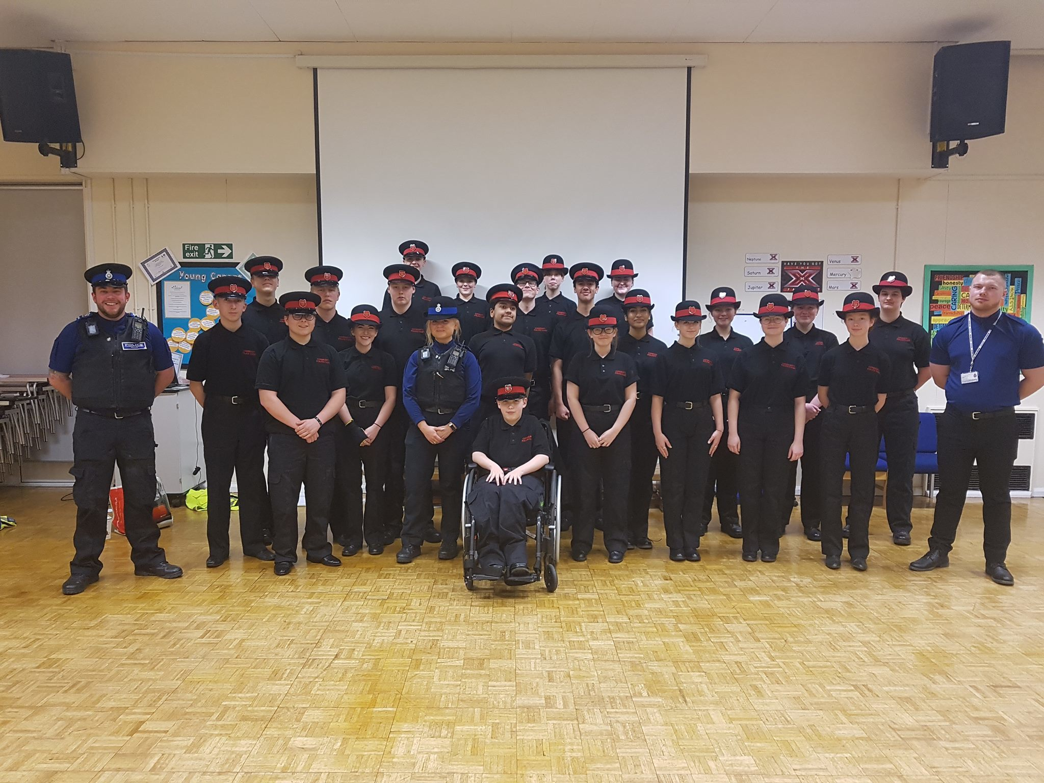 Police cadets in Swindon get lesson on internet safety