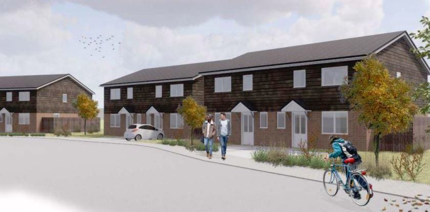 The Stonewater development near Wroughton promises to bring affordable housing to the area