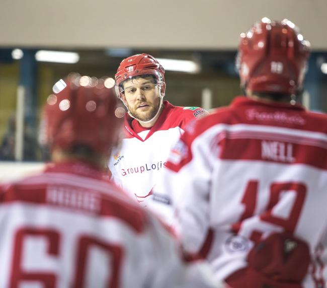 Swindon Wildcats' Sam Bullas.                                                             PHOTO: Ryan Ainscow