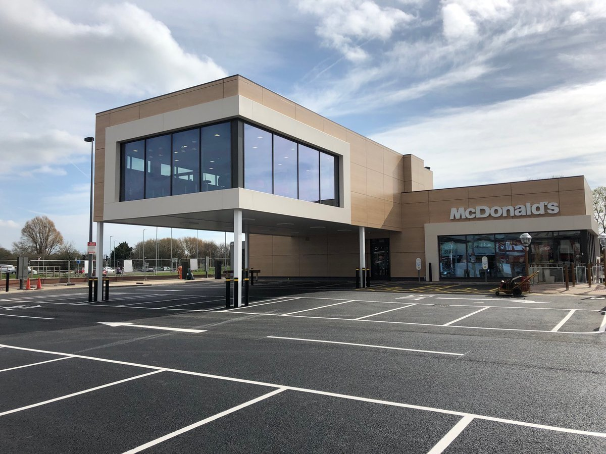 First look inside one-of-a-kind McDonald's drive-thru at Greenbridge in Swindon
