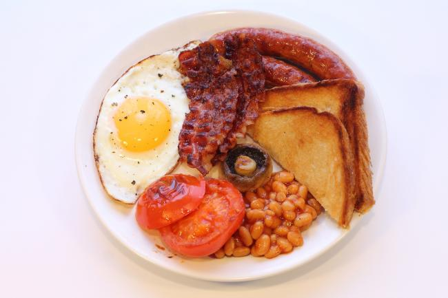 Fry-ups for breakfast: one of the signs you're a true Brit. Picture: Pixabay