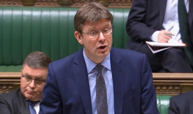Business Secretary Greg Clark making a statement to MPs in the House of Commons on the announcement that Honda plans to shut its factory in Swindon in 2021 with the loss of 3,500 jobs. PRESS ASSOCIATION Photo. Picture date: Tuesday February 19, 2019. See