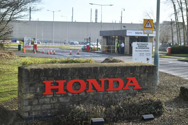 The Honda plant in Swindon, which is set to close by 2021