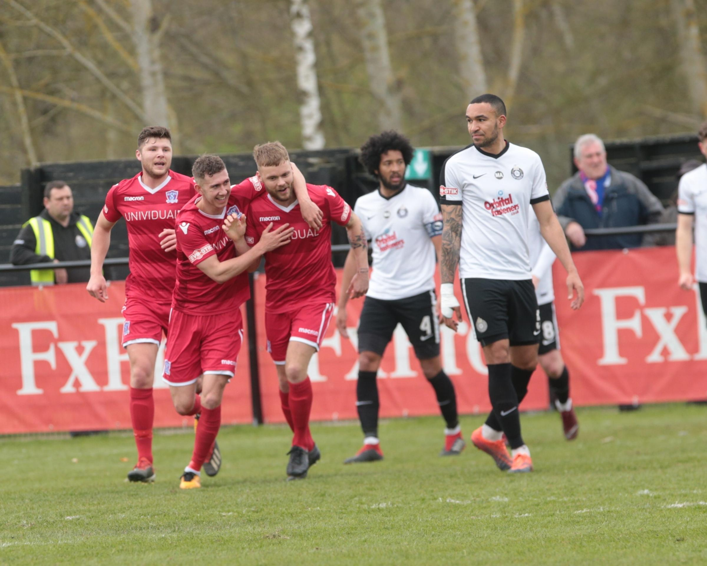 Kings Langley v Swindon Supermarine; Saturday, April 6, 2019; PICTURE: JEFF YOUD