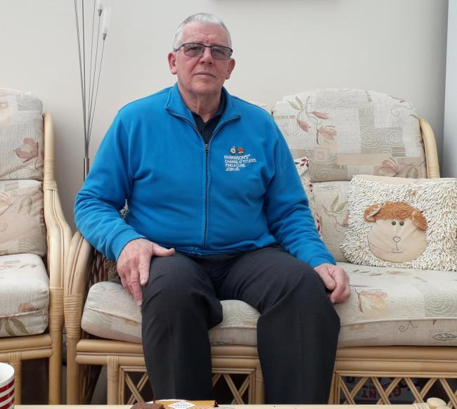 Chairman of the Swindon and District Parkinson's UK Dave Logan