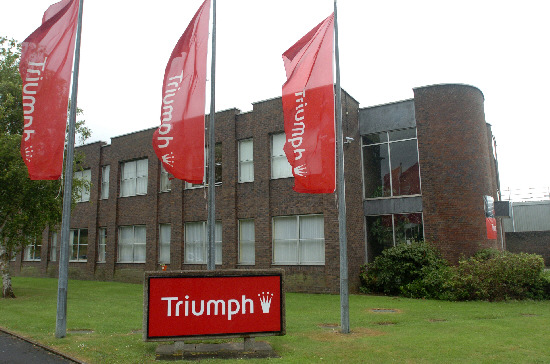 The Triumph factory at Groundwell