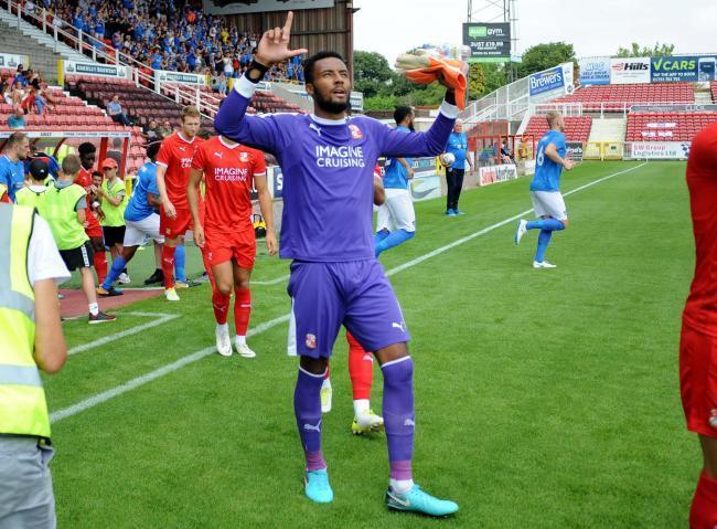 Vigouroux to return for Town's trip to Oldham