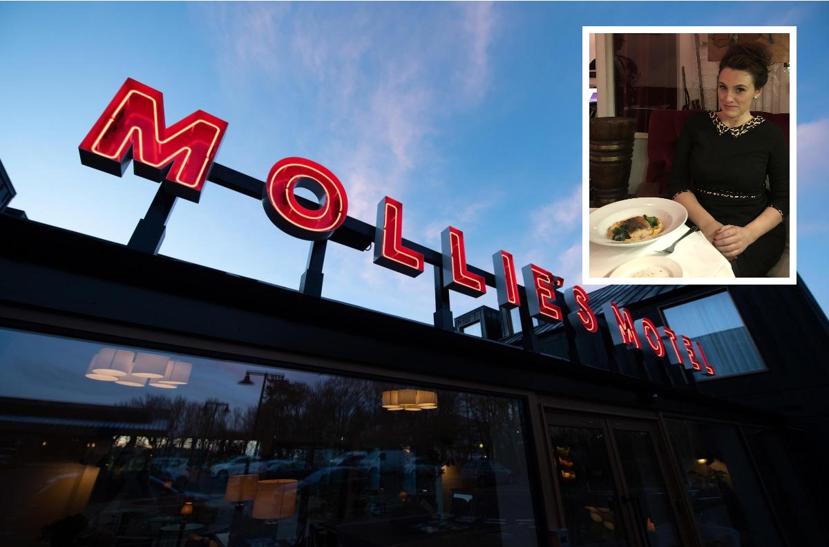 Guardian's Grace Dent reviews Mollie's diner off the A420 in Oxfordshire