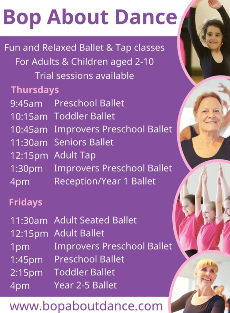 Ballet and Tap Classes in Bradford on Avon