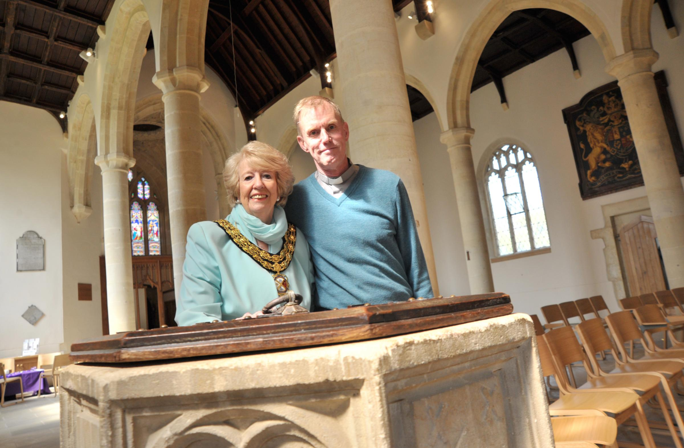 Expensive renovations to 13th century Highworth church praised by town's mayor