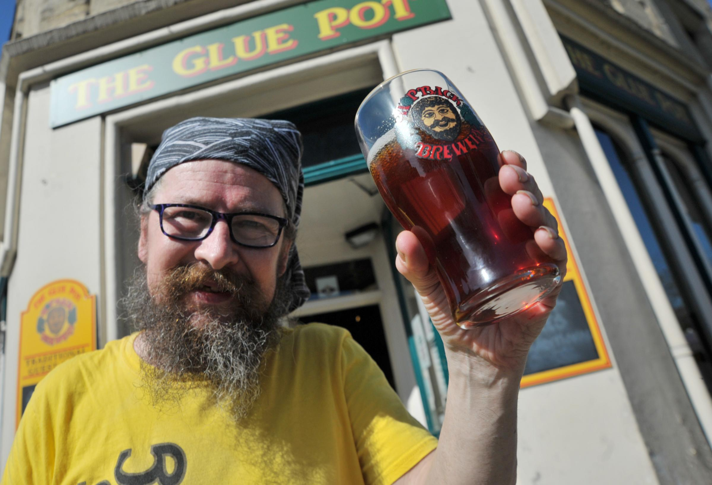 Sun brings the drinkers to the Glue Pot's sixth beer festival