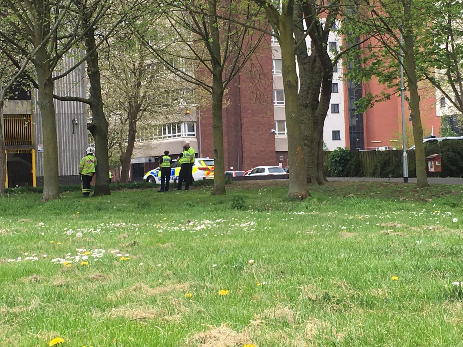 Police closed road to deal with incident at Spring Gardens car park