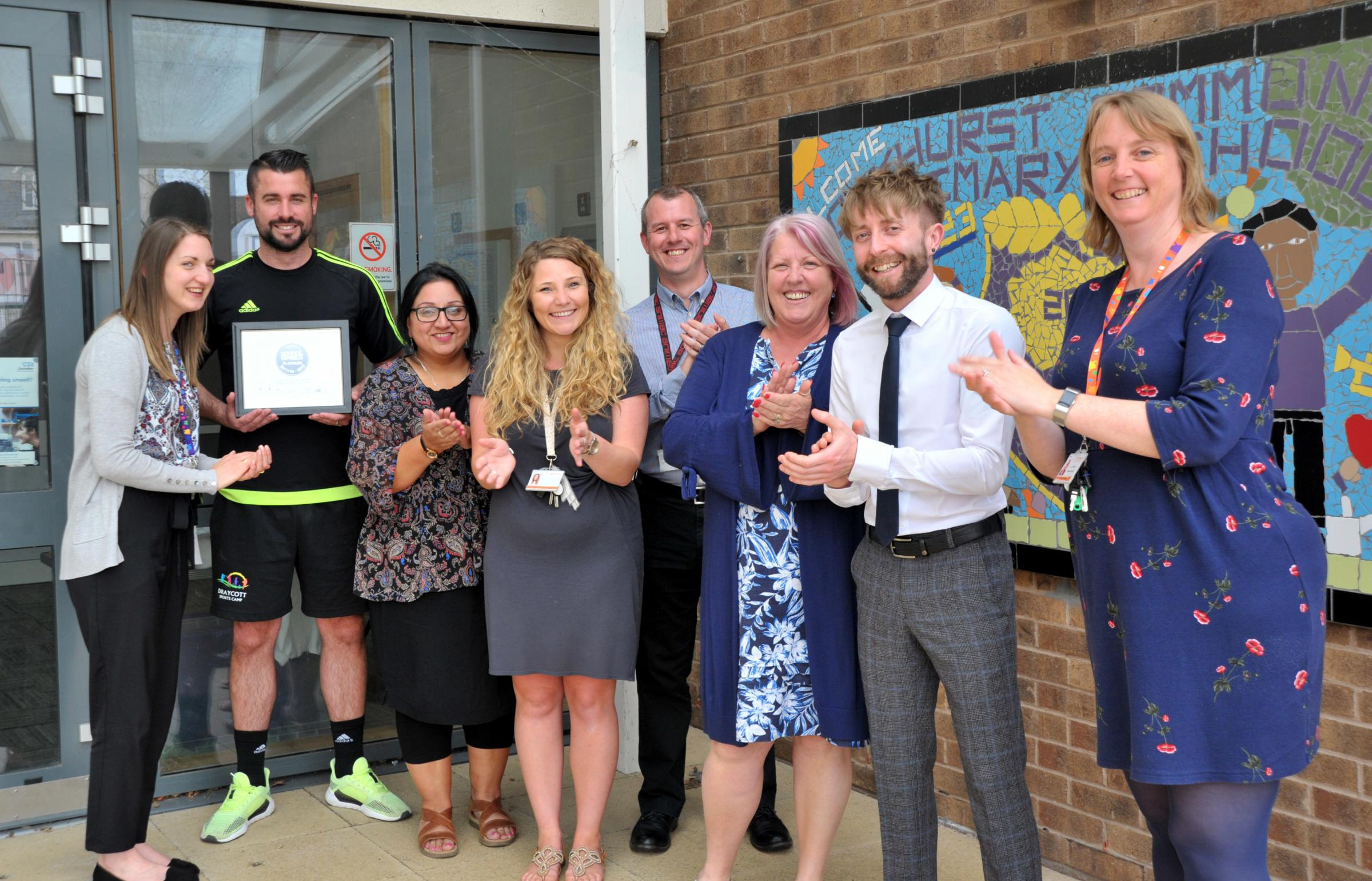Oakhurst Primary School on the up after year of hard work by new leadership team