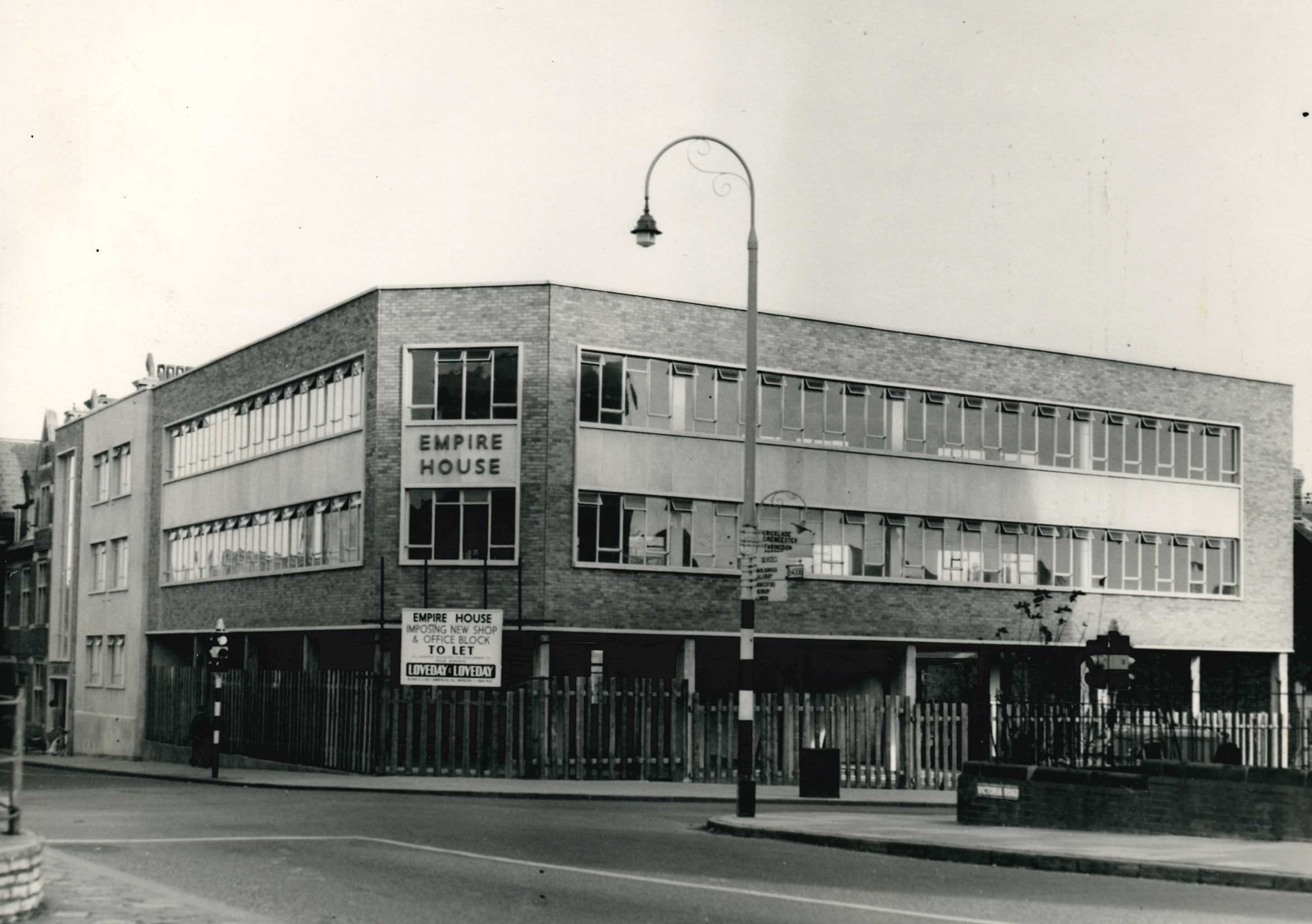 The building which replaced a beloved Swindon theatre
