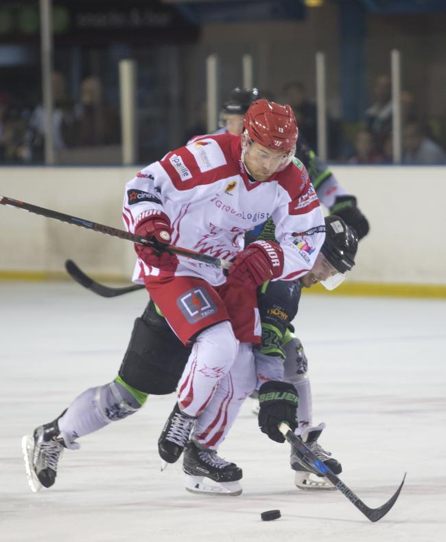 Sam Bullas pictured in action against Hull Pirates earlier this season, where he celebrated his 10th year as a Wildcats player.                        PICTURE: Ryan Ainscow