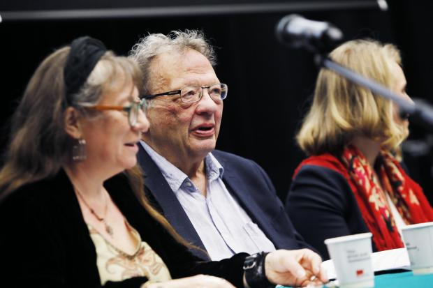 Swindon Advertiser: The Greens launched their campaign in Oxford last month. Larry Sanders, brother of US presidential hopeful Bernie, attended. Picture: Ed Nix