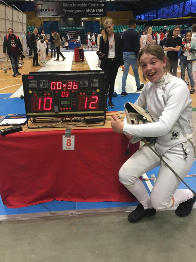 FENCING: Cole siblings produce fine performances in international competition