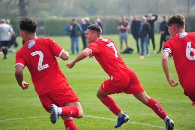 Swindon Town Under 18s vs Yeovil Town Under 18s. PICTURES: Shaun Reynolds