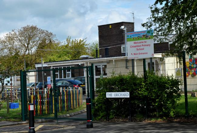 Chiseldon primary school is facing job cuts anounced by GMB union..Pic - gv.Date 3/5/19.Pic by Dave Cox..