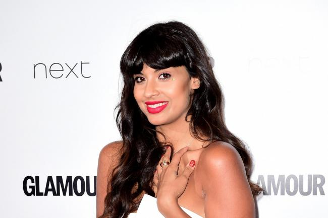 Jameela Jamil on the red carpet