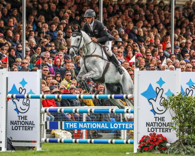 Andrew Nicholson and Swallow Springs in action at Badminton earlier this year