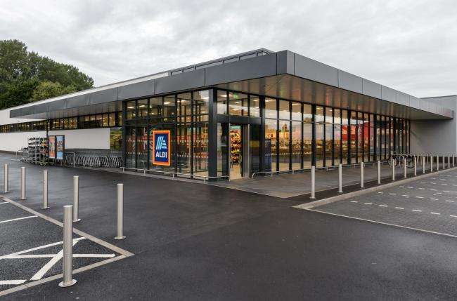 Aldi Nuneaton Store. Picture: Simon Hadley Photography.